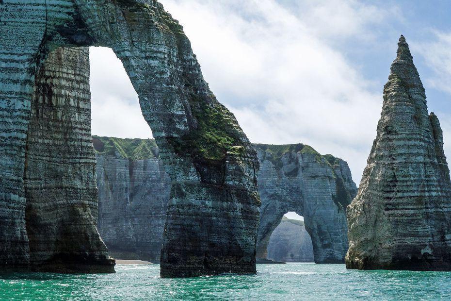 Les arches vues côté mer