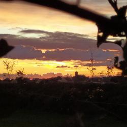 Coucher de soleil sur Gonneville